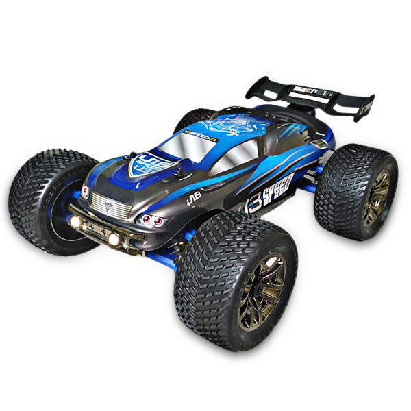JLB Racing J3SPEED 1:10 4WD RC Off-road Truggy 100km/h+ / 120A Waterproof ESC / Wheelie