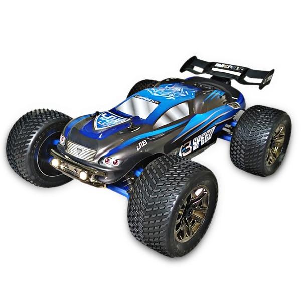 JLB Racing J3SPEED 1:10 4WD RC tout-terrain Truggy 100 km/h +/120A étanche ESC/Wheelie