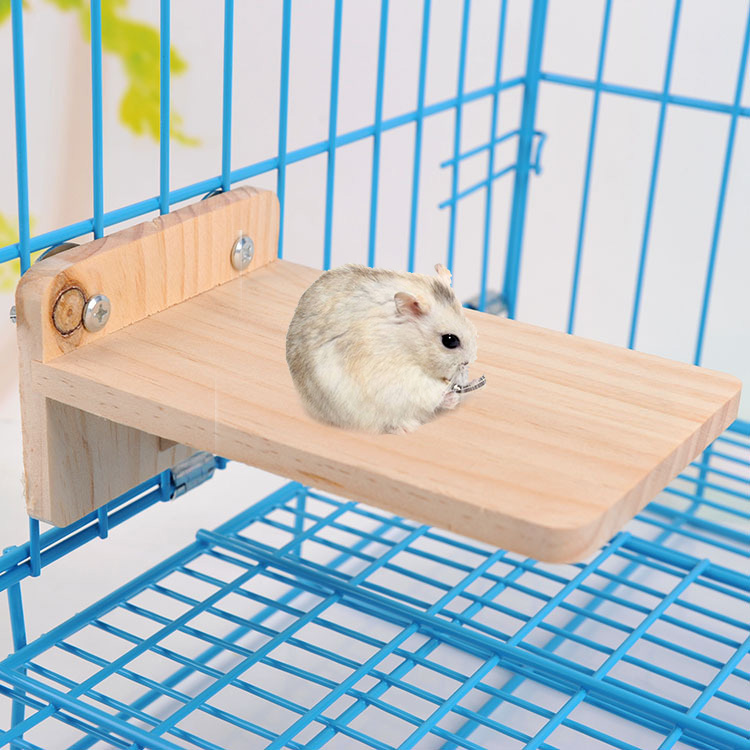 Natural Wood Hamster Footplate Pedal Board Hamster Chew Toy Accessories Guinea Pig Hedgehog Chinchilla Hamster House Bed Nest
