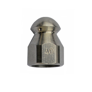 Image 2 - Sewer Drain Cleaning Nozzle Stainless Steel G1/4 for High Pressure Washer