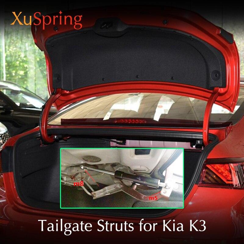 Задняя дверь багажника Весна Шок кронштейн стойки штанги подъемник комплект для Kia K3 Cerato классический Vivaro Koup Forte5 2014-2018