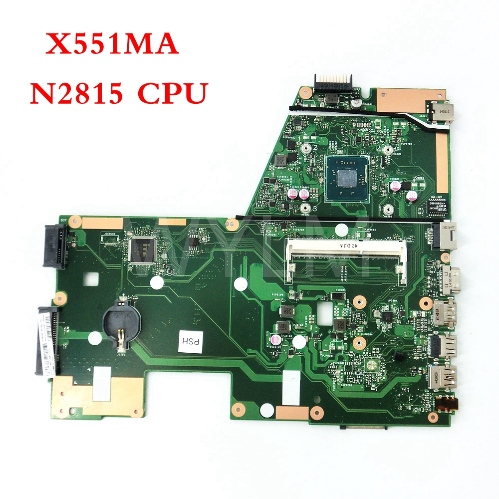 free shipping X551MA with N2815 CPU mainboard For ASUS X551M X551MA Laptop motherboard MAIN BOARD 60NB0480-MB1500-206 100%Tested