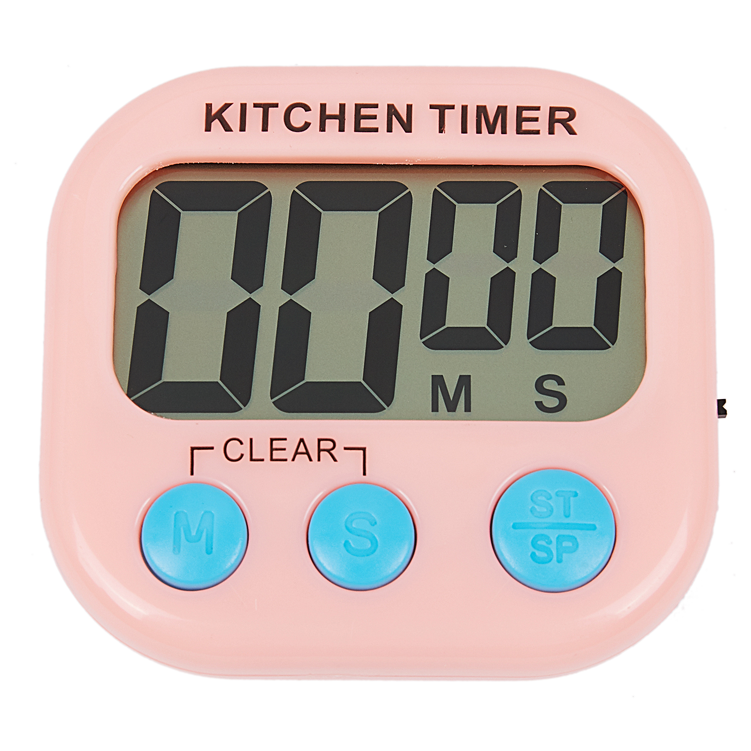 Digital Countdown Timer Large LCD Screen Display Alarm Clock Kitchen Cook tool