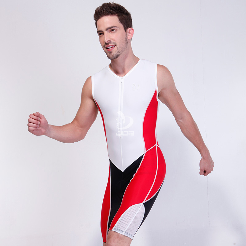 JOB Ironman Triathlon Training one piece suit men sleeveless triathlon suit triathlon wetsuit for running cycling swimming the triathlon training book