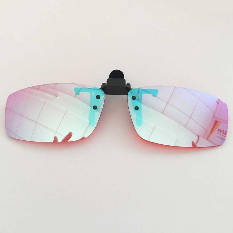 2018 Spectacles Driver license Red Green Color Blind Glasses Corrective Sun  Glasses Women Men Color blindness Glasses clip on|Men's Sunglasses| -  AliExpress