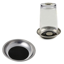 OOTDTY Magical Steel Cup Mat Coin Penetrates Into The Tricks Through the Glass