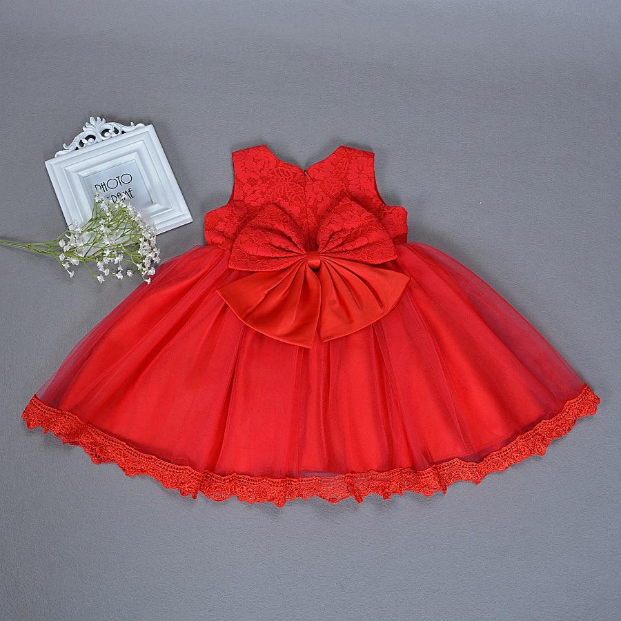 Letnia dziewczynka sukienka do chrztu Niemowląt Princess Dress 1st - Odzież dla niemowląt - Zdjęcie 5