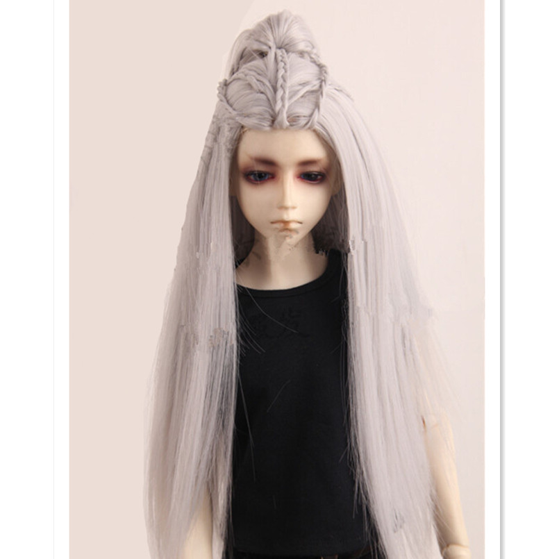 21 5 24 Cm 1 3 Bjd Doll Wigs Vintage Style Long Straight Doll Hair For Dolls High Temperature