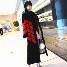 Fashion slim rabbit fur coat