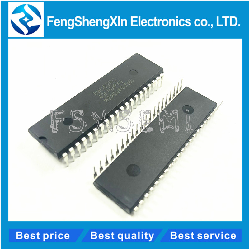 10 PCS STC89C58RD+40I-PDIP40 STC 89C58RD NEW and original icrocontrollers MCU