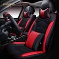 6d styling cubierta de asiento de coche para chevrolet cruze malibu spark sonic trax sail captiva epica, cuero de alta fibra, car-cubre