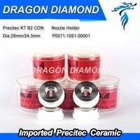 Precitec Laser Cutting Ceramic Ring KT B2 CON P0571 1051 00001 28mm/24.5mm For Fiber Laser Machine 2000w imported material