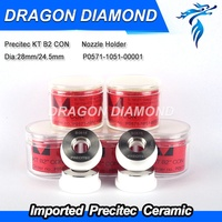 Top quality Laser Precitec Laser Ceramic KT B2 CON P0571 1051 00001 28mm/24.5mm For Fiber Laser Machine 2000w imported material