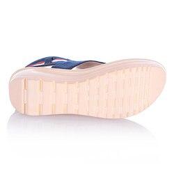 Women Sandals Zip Denim Wedges Shoes Summer Beach Shoes Fashion Platform Sandals Ladies Shoes Woman Sandalie Flip Flops Creepers 5