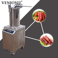 Commercial Sausage Stuffer Automatic Sausage Filler Stainless Steel Hydraulic Pressure Electric Sausage Filling Machine