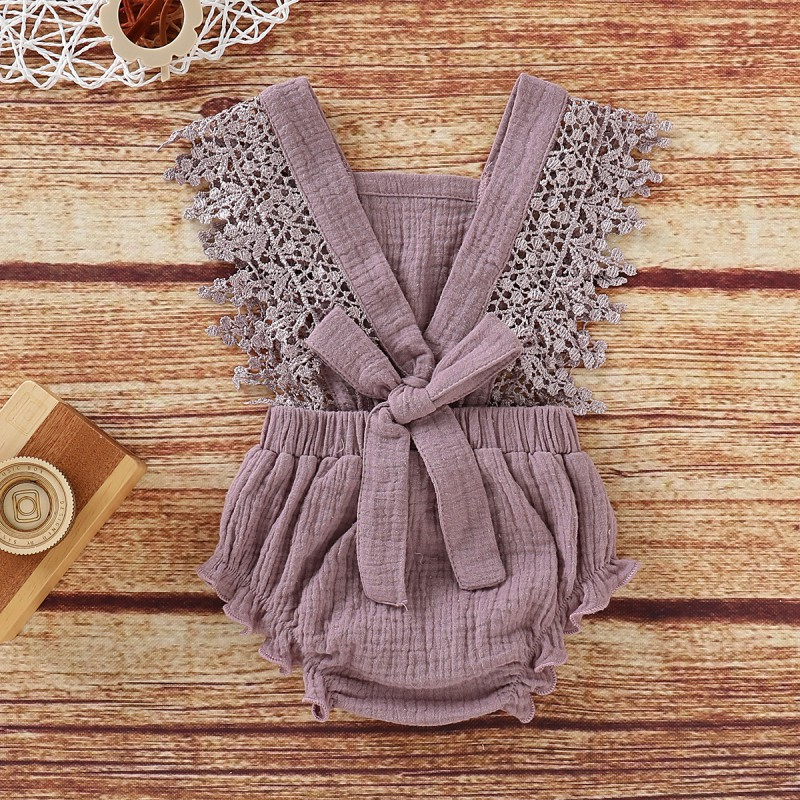 Cotton Baby Body Summer One-Piece suit