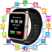 NEW GT08 Smart Watch For Apple Watch Men Women Android Wristwatch Smart Electronics Smartwatch With Camera SIM TF Card PK Y1
