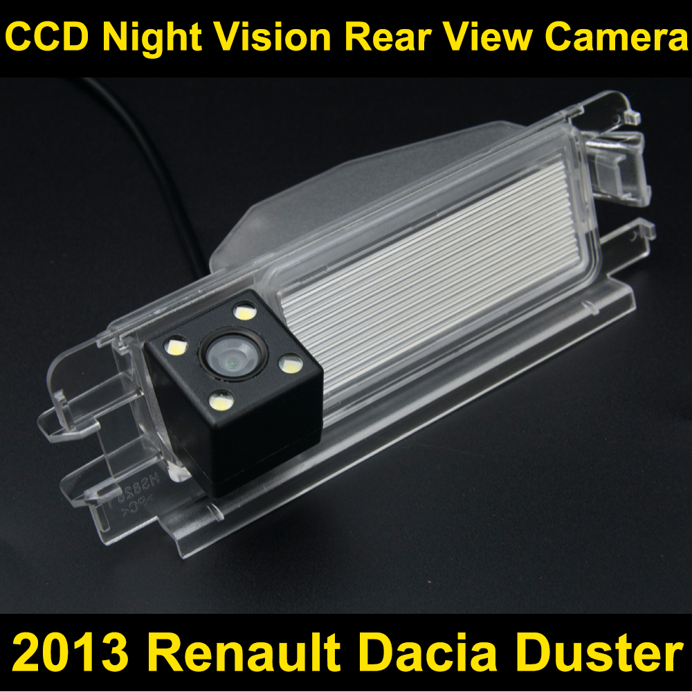 Car rearview camera for 2013 Renault Dacia Duster CCD Night Vision BackUp Reverse Parking Camera