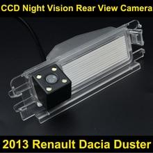 Заднего вида автомобиля Камера для 2013 Renault dacia duster CCD Ночное видение Обратный Парковка Камера