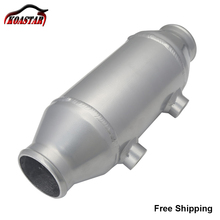 """Universal 290MM Plate Water Liquid To Air Intercooler Barrel Cooler 4""""x6"""" For Supercharger Turbo Car"""