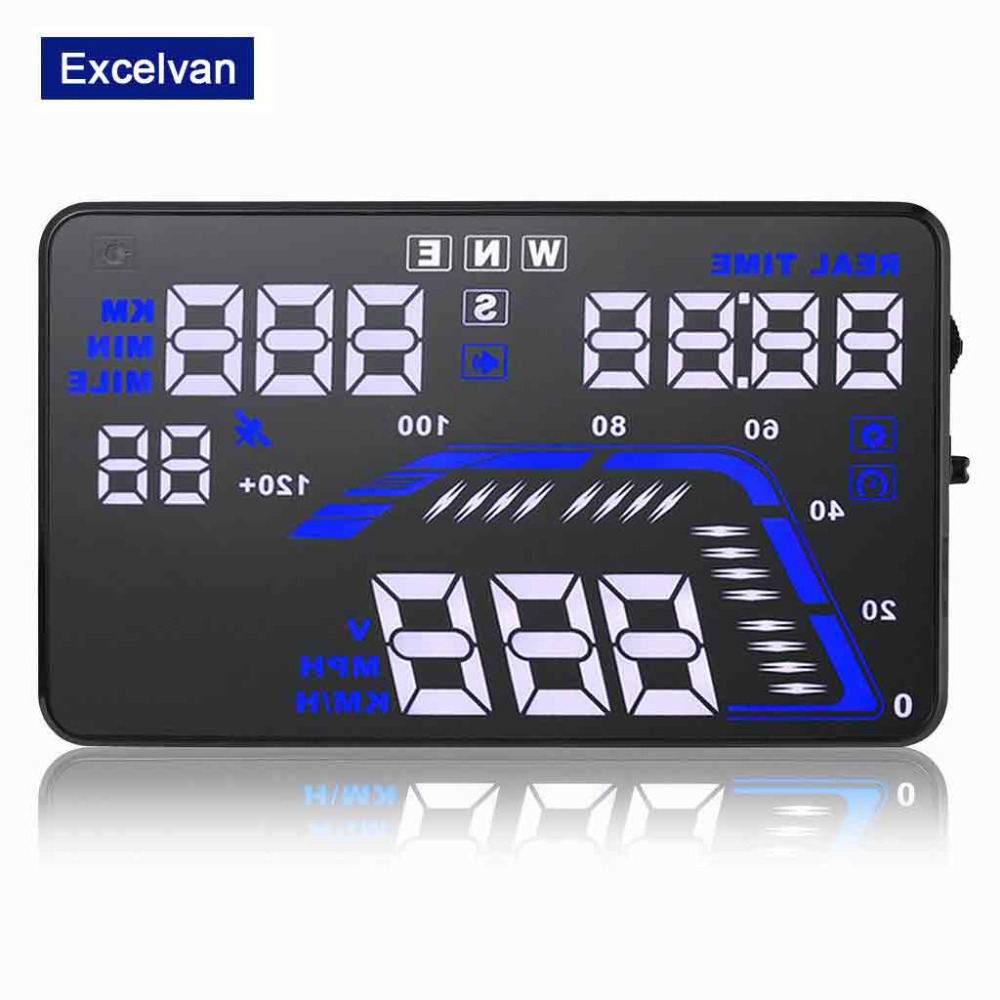 buy q7 5 5 universal auto car hud gps head up display satellite time altitude. Black Bedroom Furniture Sets. Home Design Ideas