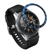 Buy Gear S3 Frontier Case For Samsung Galaxy Watch 46mm 42mm Band Strap Sport Metal Adhesive Cover Anti Watch Accessories 46/42 mm directly from merchant!
