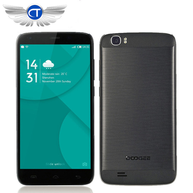 Original DOOGEE T6 Pro Android 6.0 Cell Phone 5.5 inch MT6753 Octa Core Mobile Phone 3G RAM 32G ROM 6250 mAh Smartphone Celular