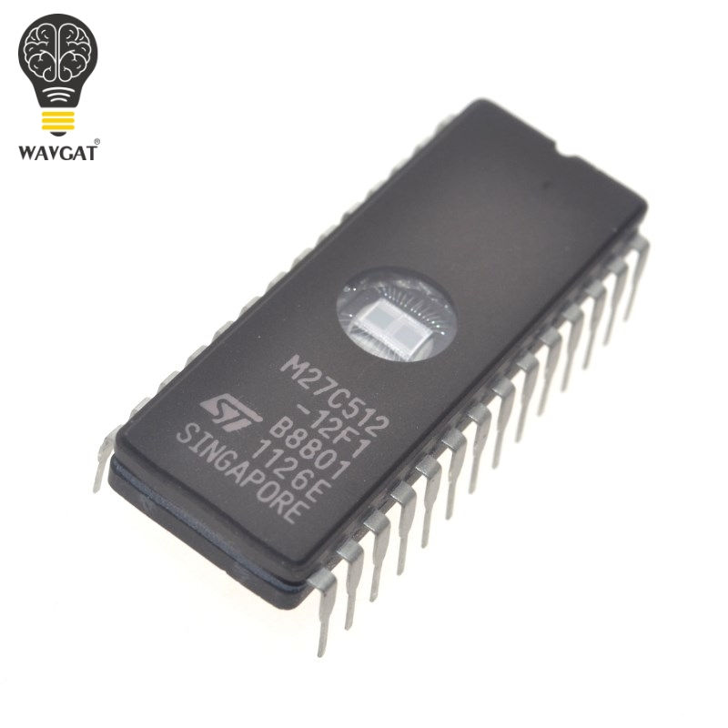 EPROM CHIP ST M27c512-12F1 10F1 Cdip 28 pin set of 4 NEW