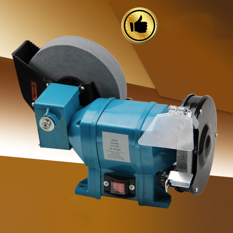Small Household Electric Bench Grinder Poishing Machine For Table Grinding Wheel Machine Multi-function Wet And Dry Grinder