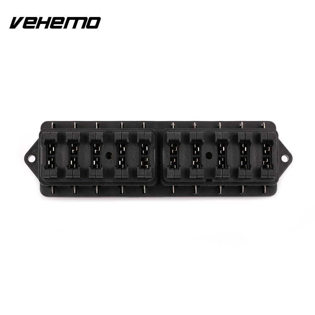 medium resolution of car machinery modification accessory multi way fuse box holder 10pcs car fuse