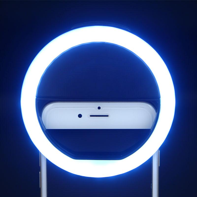 ET Universal Telefon Selfie LED Flash İşıq Universal Cib telefonu - Cib telefonu aksesuarları və hissələri - Fotoqrafiya 2