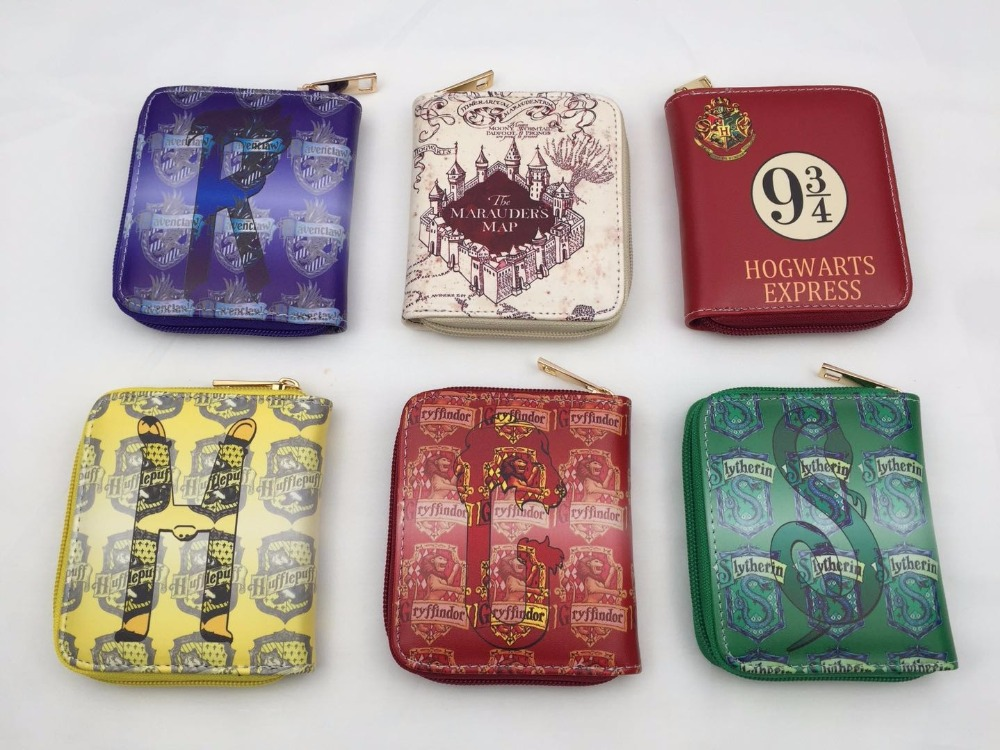 Harry Potter Deadpool Game of Thrones Death Note Ricky And Morty One Piece Men Anime Wallets Short Slim Leather Cartoon Purse fvip high quality short wallet harry potter game of thrones suicide squad wonder women tokyo ghoul men s wallets women purse