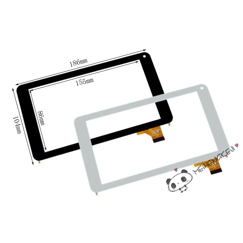 New 7'' Touch Screen Digitizer Glass For LOGICOM La TAB 72 Tablet PC