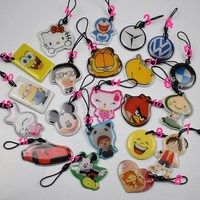 50pcs Lot UID Changeable Card Small Pendant NFC Keychain 13 56MHz ISO14443A Block 0 Writable MF1