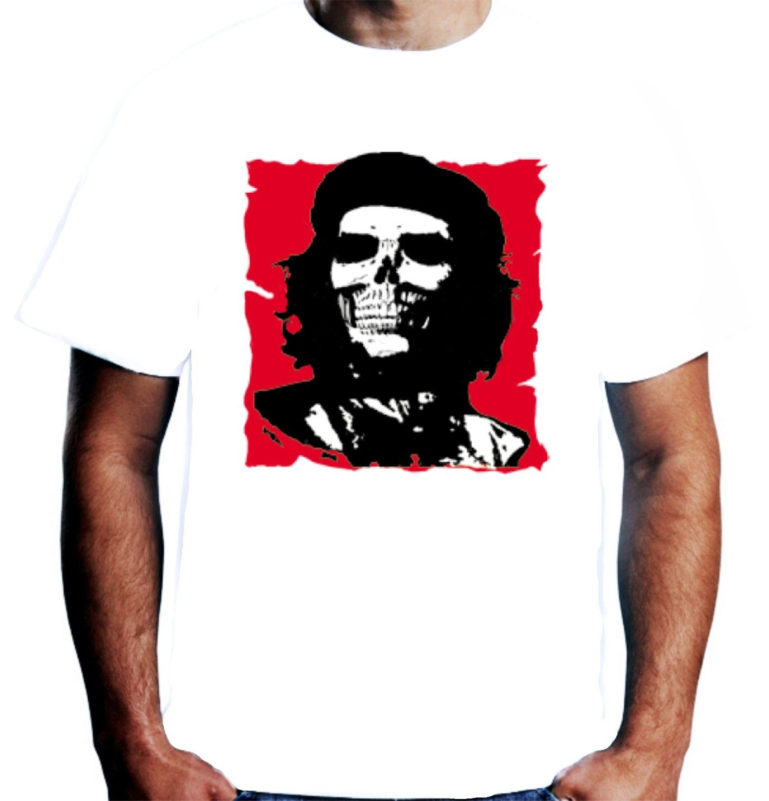 2018 Fashion New Mens Che Guevara Zombie T Shirt Pop Art Revolution Cuba Men  T Shirt Print Cotton Short Sleeve T shirt-in T-Shirts from Men s Clothing  on ... 594d012a2be9