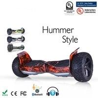 自己バランススクーター電動スケートボード350ワット* 2サムスンバッテリーgyroscooter 8.5インチ2輪bluetooth hoverboard付きバッグ