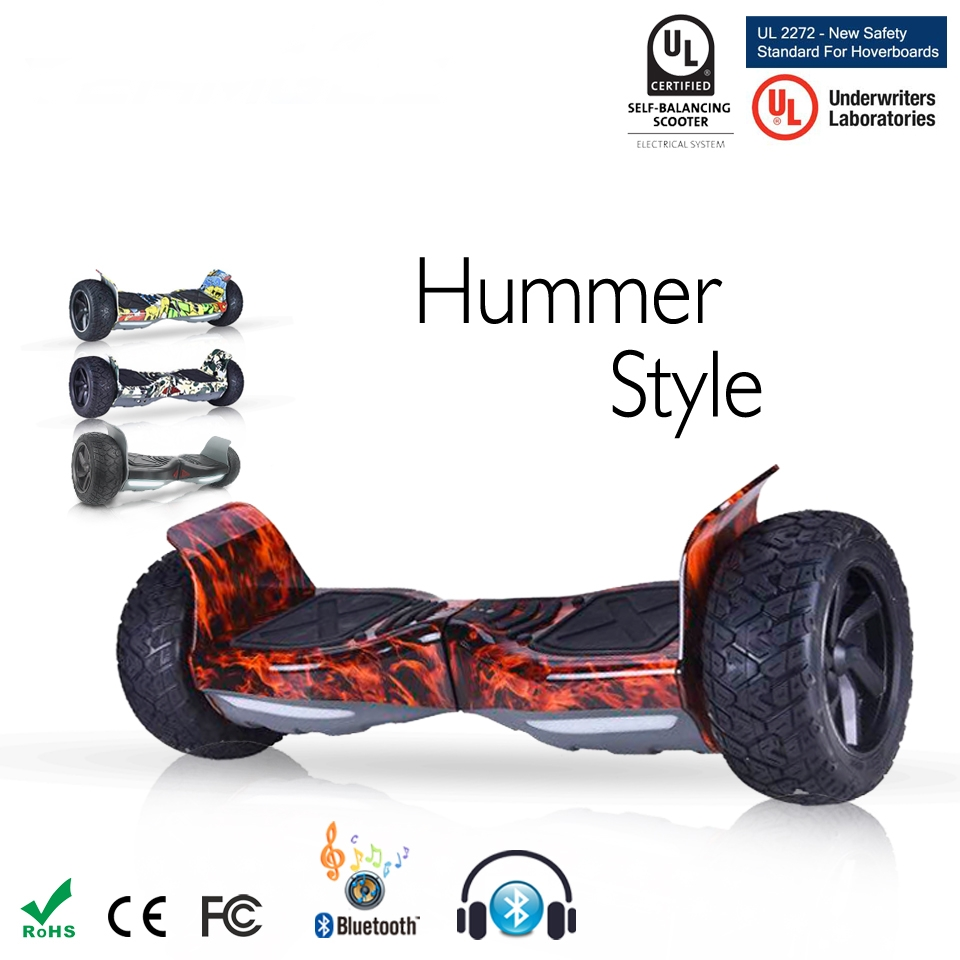 Self Balance Scooters Electric Skateboard 500w*2  Samsung Battery Gyroscooter 8.5 Inch Two Wheel Bluetooth Hoverboard with Bag free shipping 48v 15ah battery pack lithium ion motor bike electric 48v scooters with 30a bms 2a charger