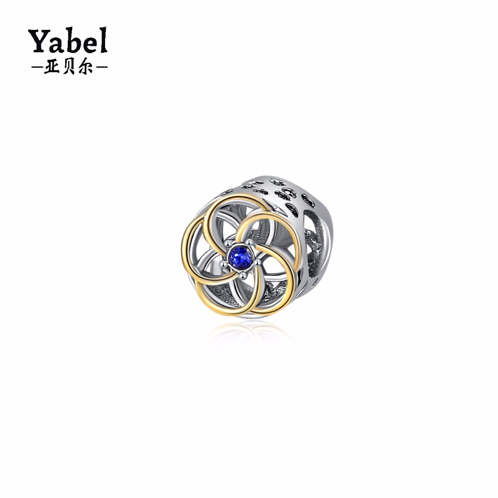 Yabel Hot Sell Alloy Beads For Jewelry Making Cross Gold