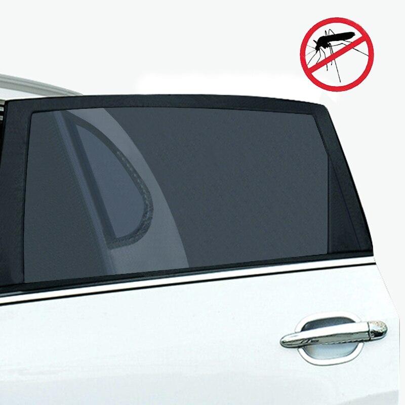 2Pcs Car Sun Shade UV Protection Car Curtain Car Window Sunshade Side  Window Mesh Sun Visor Summer Protection Window Film