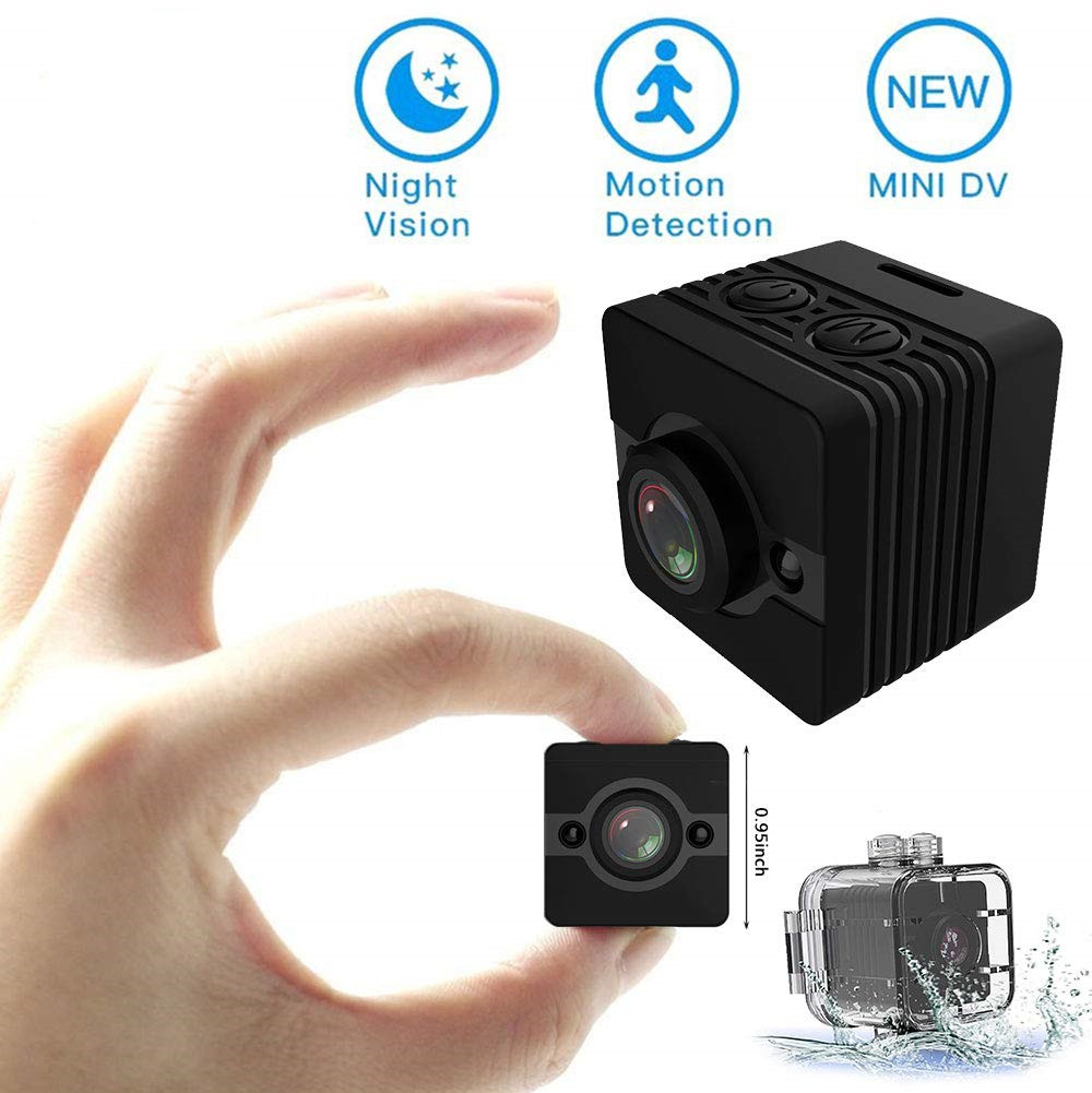 SQ12 Mini Camera 720p cam Night Vision Wide Angle lens Waterproof Mini Camcorder DV Voice Video Recorder Action Camera SQ 12 image
