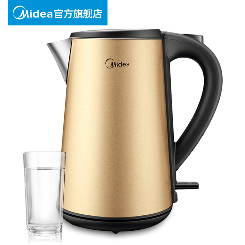 Midea 304 Stainless Steel Kettles Electric Kettle Power Off Automatically цена