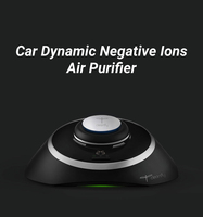 Car Aromatherapy Dynamic Negative Ions Air Purifier PM2.5 Smoke Odor Eliminator Car Air Freshner Ozone Negative Ion Air