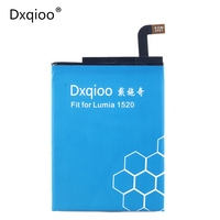 Original Built In Mobile Phone Battery For Nokia Lumia 1520 Bv 4bw Battery Free Shipping