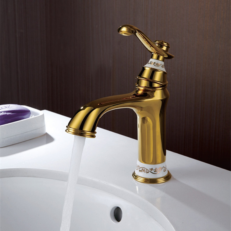 Antique Bathroom Faucets Basin Faucets Brass Sink Mixer Bathroom basin Single Handle Single Hole Hot and Cold Tap Accessories donyummyjo new design luxury single handle hot and cold tap antique brass faucets bathroom faucet basin sink mixer tap swan neck