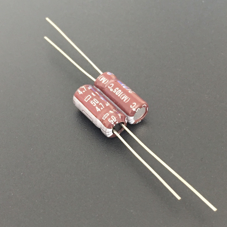 10PCS 33UF 50V 105°C Radial Electrolytic Capacitor 5X11mm