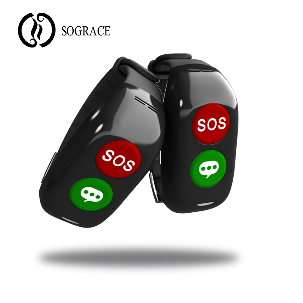 Sograce Smart Wristband 2018 SOS Gps Smartband Heart Rate Blood Pressure Smart Band Activity Bracelet Waterproof Fitness Watch