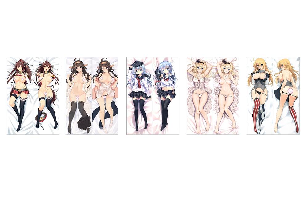 Collezione anime giapponese Kantai Federa per il corpo avvolgente - Tessili per la casa