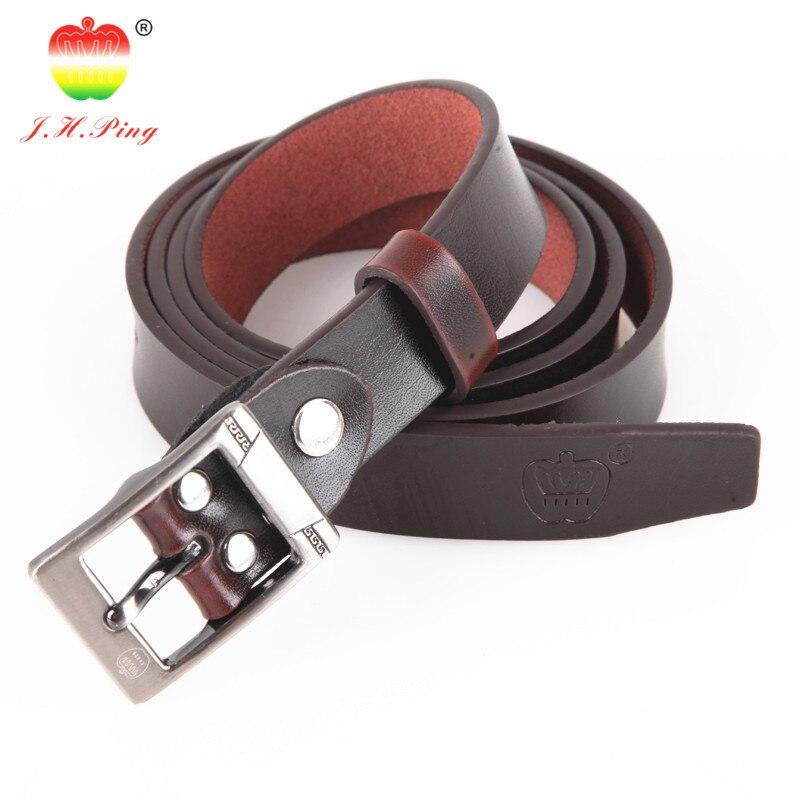 2016 new hot sale 2 3cm wide belts lady women leather belt Jinhuangping brand belt in Women 39 s Belts from Apparel Accessories