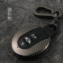 Porte-clé de voiture en alliage de Zinc, haute qualité, anneau de sac pour BMW MINI Cooper One Fun F54 F55 F56 R56 R57 R58 R59 R60 R61