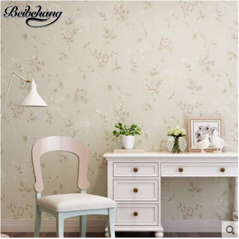 Beibehang papel de parede wallpaper romance idyllic nonwovens wallpaper bedroom living room television background wallpapers rel beibehang nonwovens healthy fashion